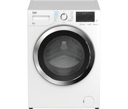 Ultrafast WDEX854044Q0W Bluetooth 8 kg Washer Dryer - White