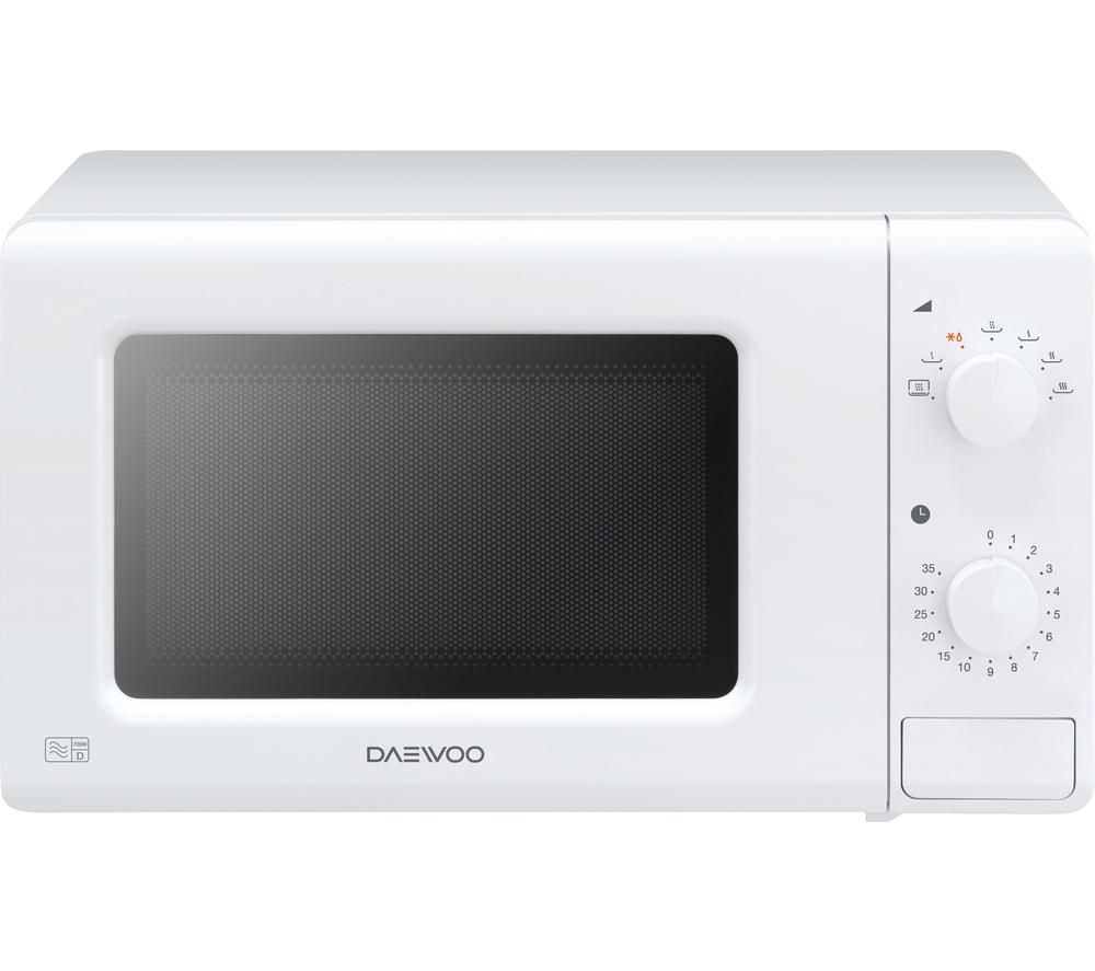 DAEWOO KOR6M17 Solo Microwave - White