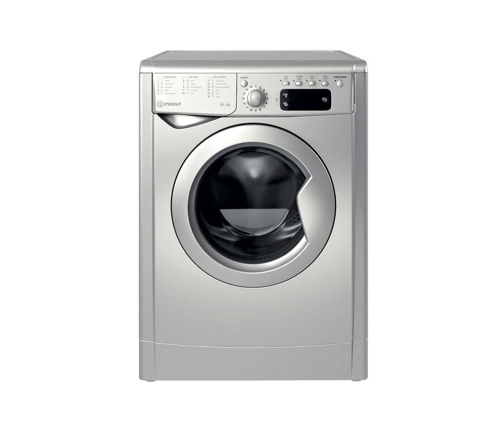INDESIT Ecotime IWDD 75145 S UK N 7 kg Washer Dryer - Silver