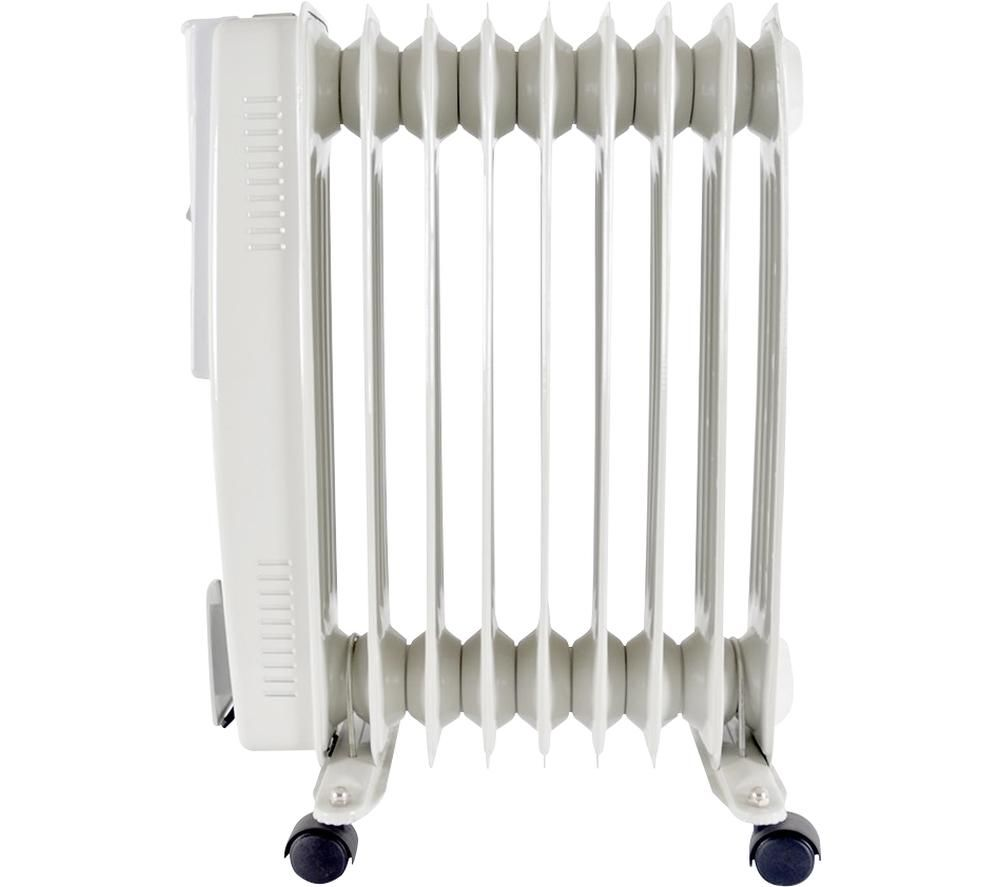 LLOYTRON F2602GR Portable Oil-Filled Radiator - Grey, Grey