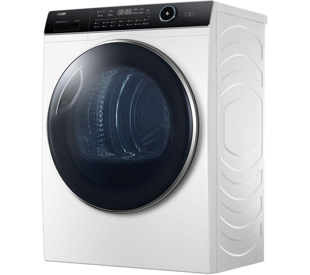 HAIER HD90-A2979 9 kg Heat Pump Tumble Dryer - White, White