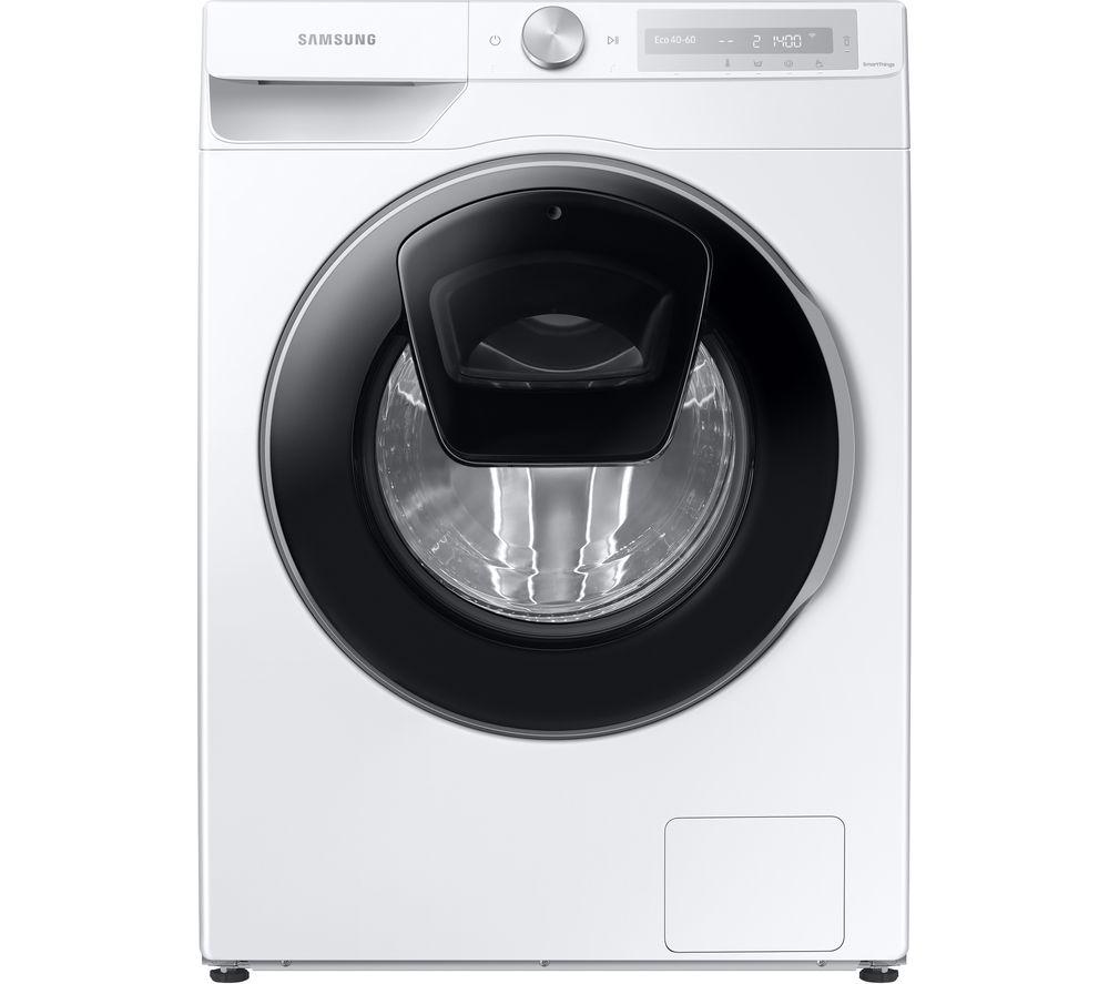 SAMSUNG Series 6 AddWash + Auto Dose WW90T684DLH/S1 WiFi-enabled 9 kg 1400 Spin Washing Machine - White