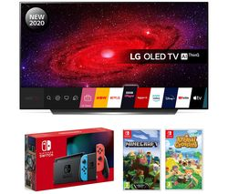 LG 65CX6 OLED TV with Nintendo Switch and Games Best Price, Cheapest Prices