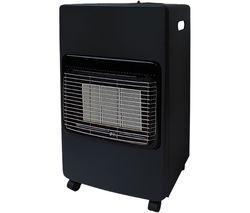 HEA1490 Portable Gas Heater - Black
