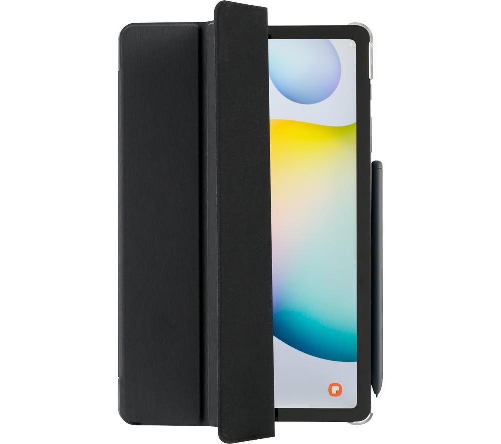"""HAMA Essential Fold Clear 10.4"""" Samsung Galaxy Tab S6 Lite Case - Black"""