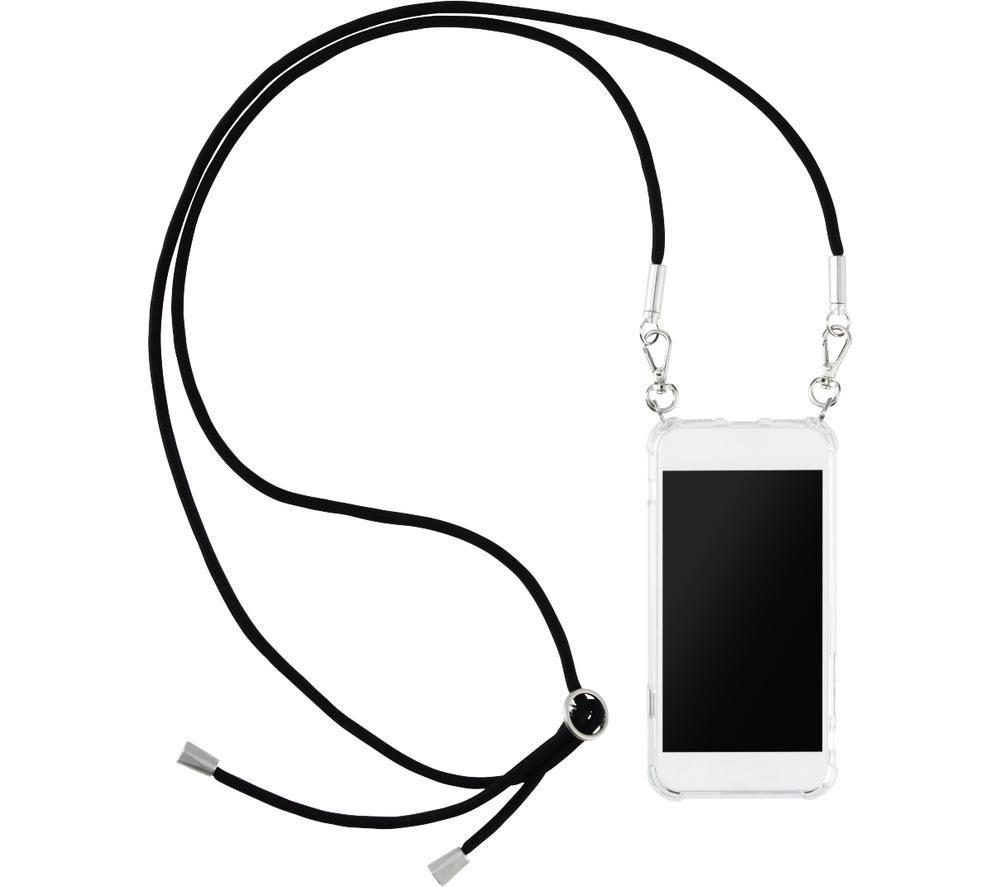 HAMA Design Line Cross-Body Samsung Galaxy A21s Case - Clear