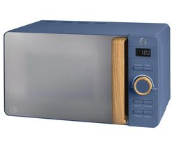 SWAN Nordic SM22036BLUN Solo Microwave - Blue Best Price, Cheapest Prices