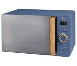 Nordic SM22036BLUN Solo Microwave - Blue