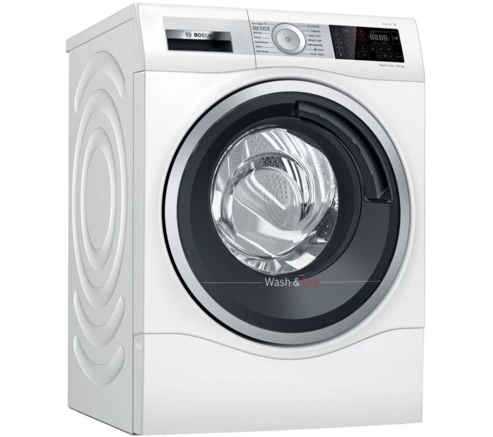 BOSCH Serie 6 WDU28561GB 10 kg Washer Dryer - White