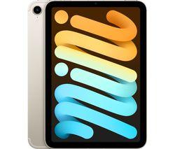 "8.3"" iPad mini Cellular (2021) - 256 GB, Starlight"