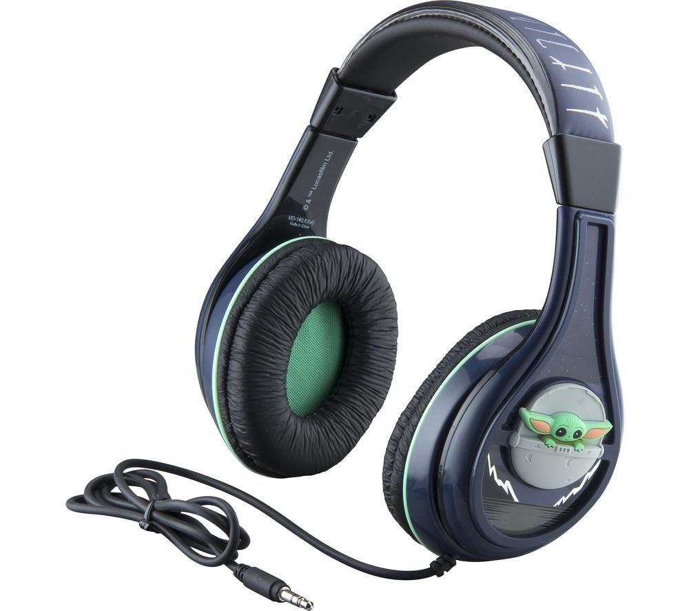 EKIDS Star Wars Mandalorian MD-140.FXv0 Kids Headphones - Black