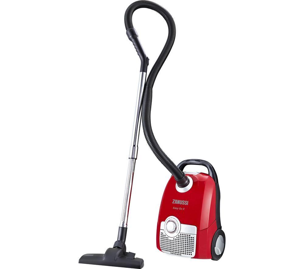 ZANUSSI Easy Go II ZAN5100RD Cylinder Vacuum Cleaner - Red