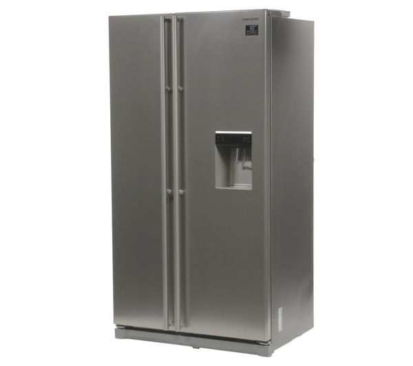 American Fridge Freezer Part - 17: SAMSUNG RSA1RTPN American-Style Fridge Freezer - Platinum Inox