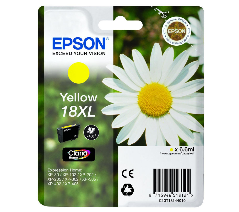EPSON Daisy T1814 XL Yellow Ink Cartridge