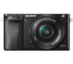 SONY a6000 Mirrorless Camera with 16-50 mm f/3.5-5.6 Lens