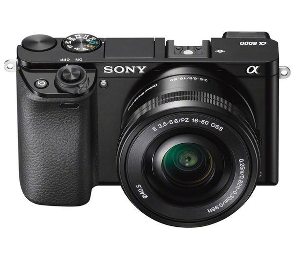 SONY a6000 Mirrorless Camera with 16-50 mm f/3 5-5 6 Lens