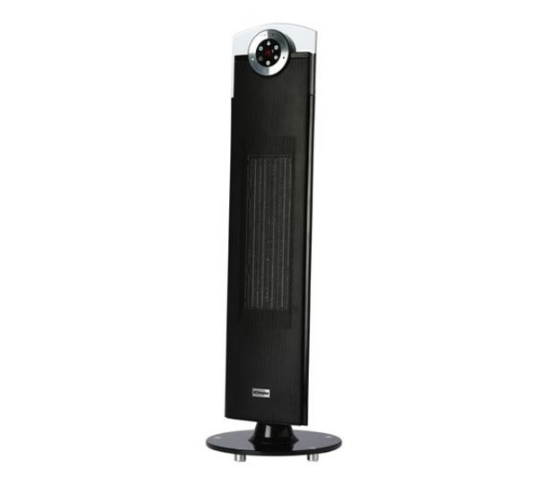 Image of DIMPLEX DXSTG25 Ceramic Fan Heater - Black, Black