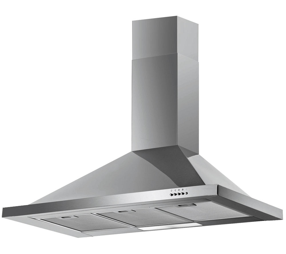BAUMATIC F100.2SS Chimney Cooker Hood - Stainless Steel