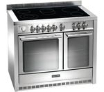 BAUMATIC BCE1025SS Electric Ceramic Range Cooker - Stainless Steel