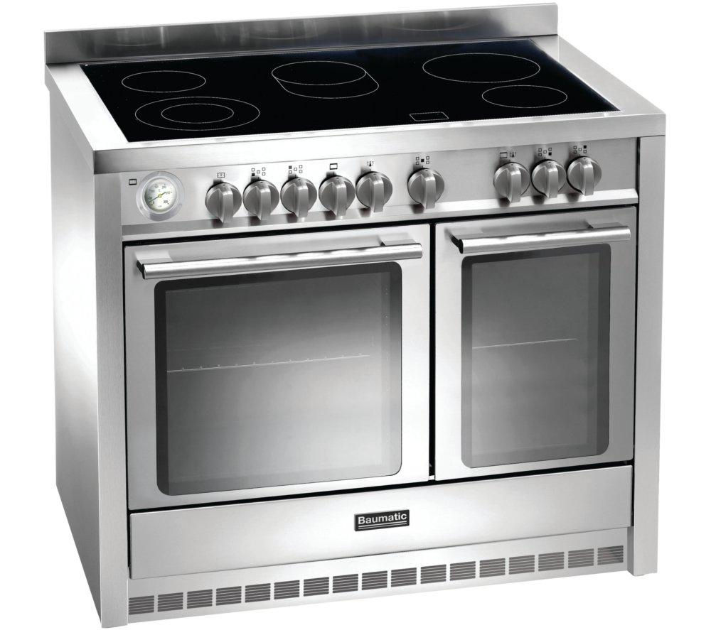 Buy BAUMATIC BCE1025SS Electric Ceramic Range Cooker - Stainless ...