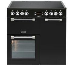 Cookmaster CK90C230K Electric Ceramic Range Cooker - Black