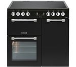 LEISURE Cookmaster CK90C230K Electric Ceramic Range Cooker - Black