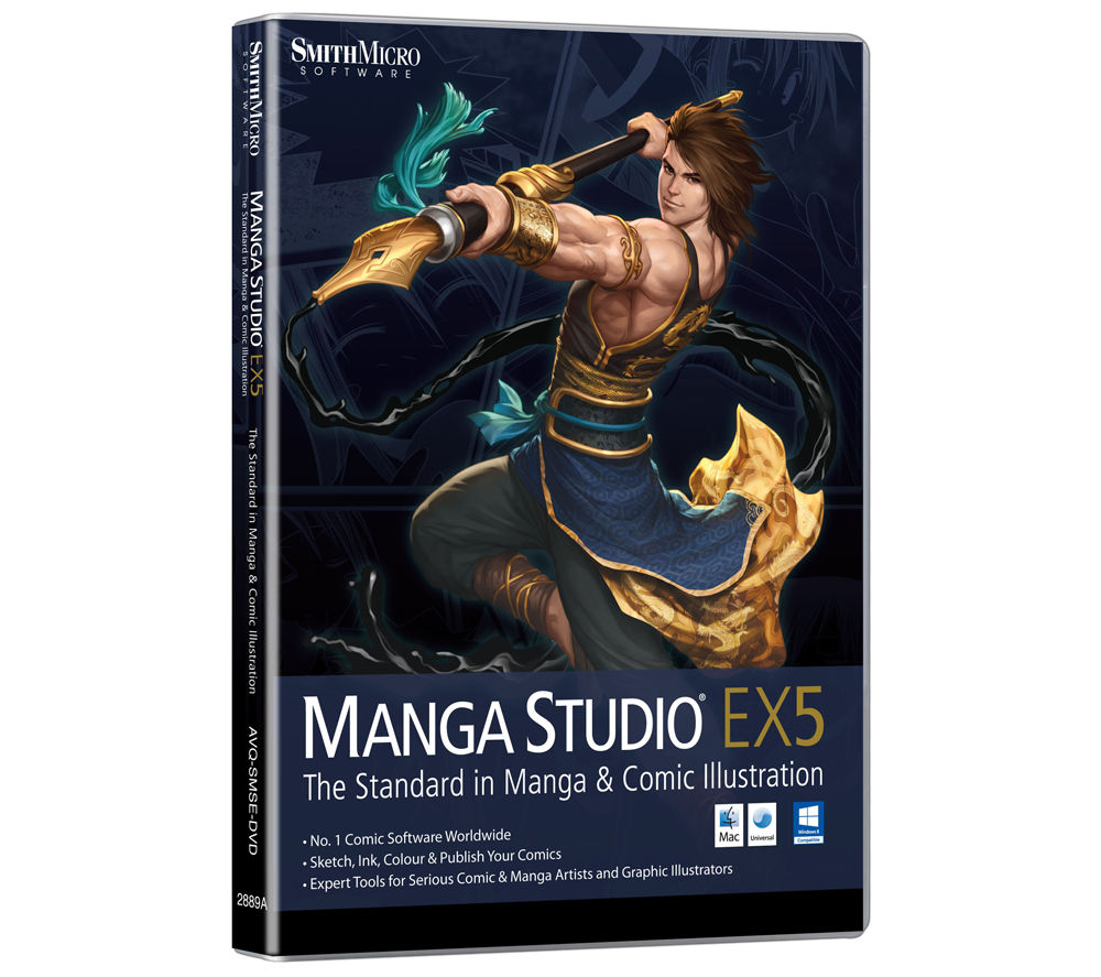 AVANQUEST Manga Studio EX 5