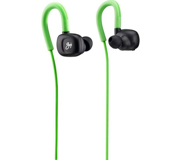 e6d472b1f86 GOJI GINBT15 Wireless Bluetooth Headphones - Black & Green - Currys ...