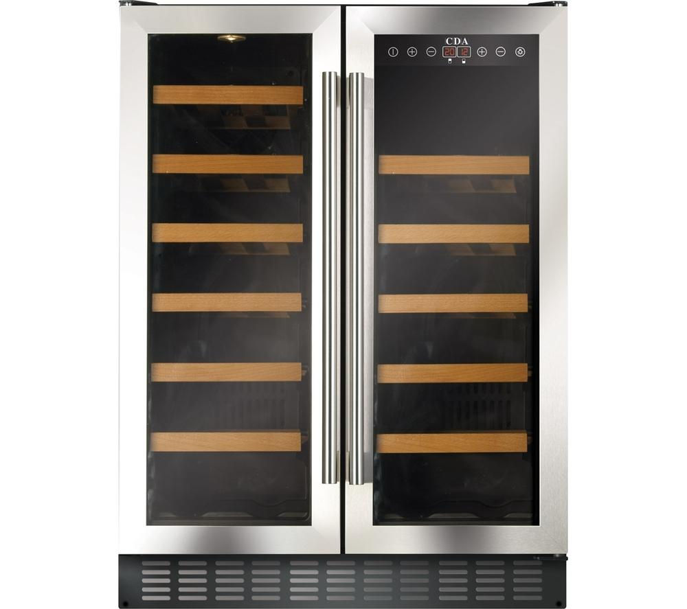 Compare retail prices of Cda fwc623ss Wine Cooler Stainless Steel to get the best deal online
