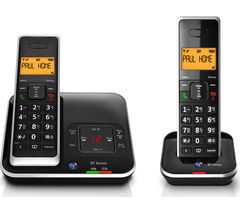 BT Xenon 1500 Cordless Phone with Answering Machine – Twin Handsets