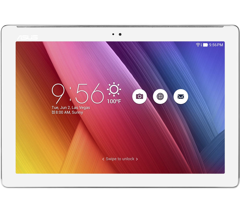 "ASUS ZenPad Z300M 10.1"" Tablet - 16 GB, White + LiveSafe Premium - 1 user / unlimited devices for 1 year + Cloud Storage for Tablets & Mobiles - 200 GB, 1 year"