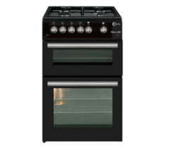 FLAVEL ML61NDK Gas Cooker - Black Best Price, Cheapest Prices