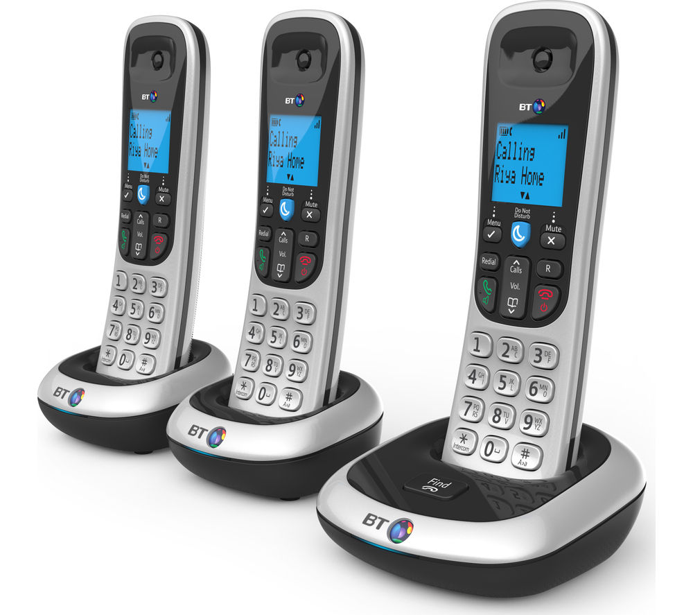 BT 2200 Cordless Phone - Triple Handsets