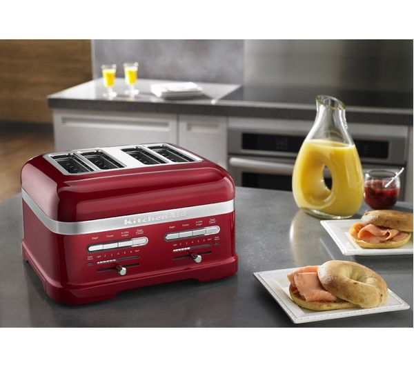KITCHENAID Artisan 5KMT4205BCA 4 Slice Toaster   Red