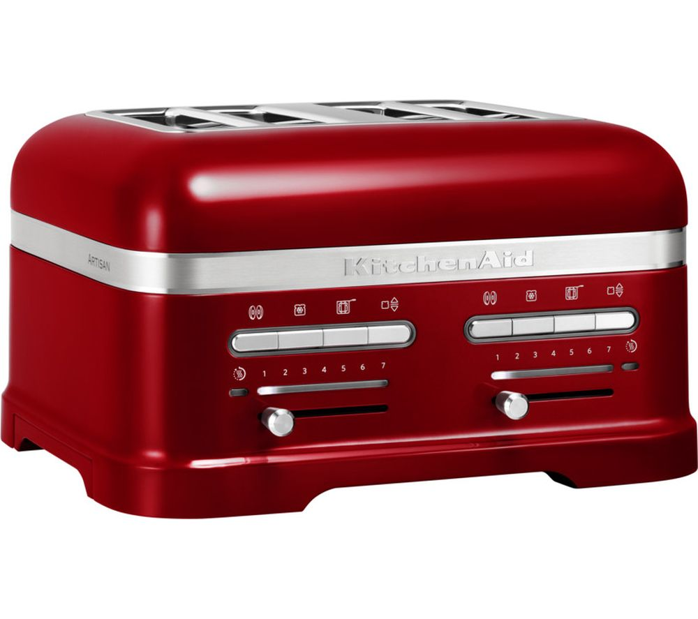 Nice KITCHENAID Artisan 5KMT4205BCA 4 Slice Toaster   Red