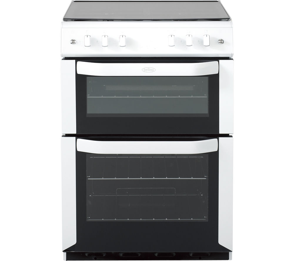 BELLING FSG60DOP Gas Cooker - White