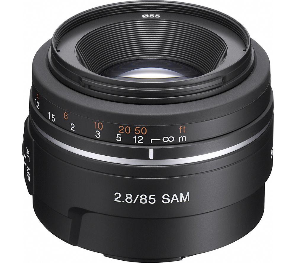 SONY 85 mm f/2.8 SAM Telephoto Prime Lens