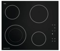 RANGEMASTER RM60HPECGL Electric Ceramic Hob - Black Best Price, Cheapest Prices