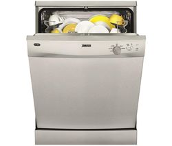 ZANUSSI ZDF21001XA Full-size Dishwasher - Stainless Steel Best Price, Cheapest Prices