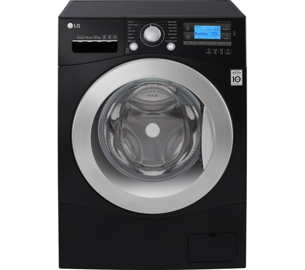 Lg Washing Machine ~ Buy lg fh bdn smart washing machine black free