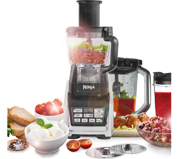 Black And Silver Kitchen Appliances: Buy NINJA Nutri Ninja BL682UK2 Food Processor
