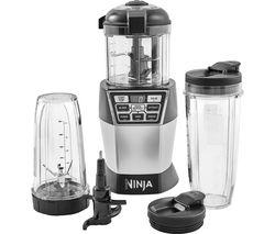 NINJA Nutri Bowl Duo NN100UK Food Processor - Silver