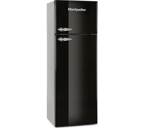 Image of MONTPELLIER MAB345K Fridge Freezer - Black