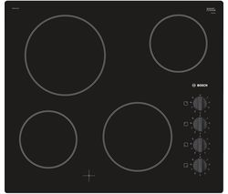 BOSCH Serie 2 PKE611CA1E Electric Ceramic Hob - Black Best Price, Cheapest Prices