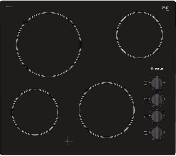 Image of BOSCH Serie 2 PKE611CA1E Electric Ceramic Hob - Black