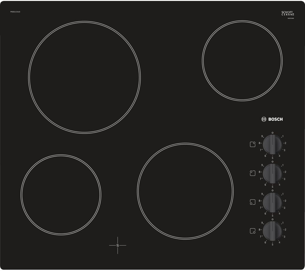 BOSCH Serie 2 PKE611CA1E Electric Ceramic Hob - Black