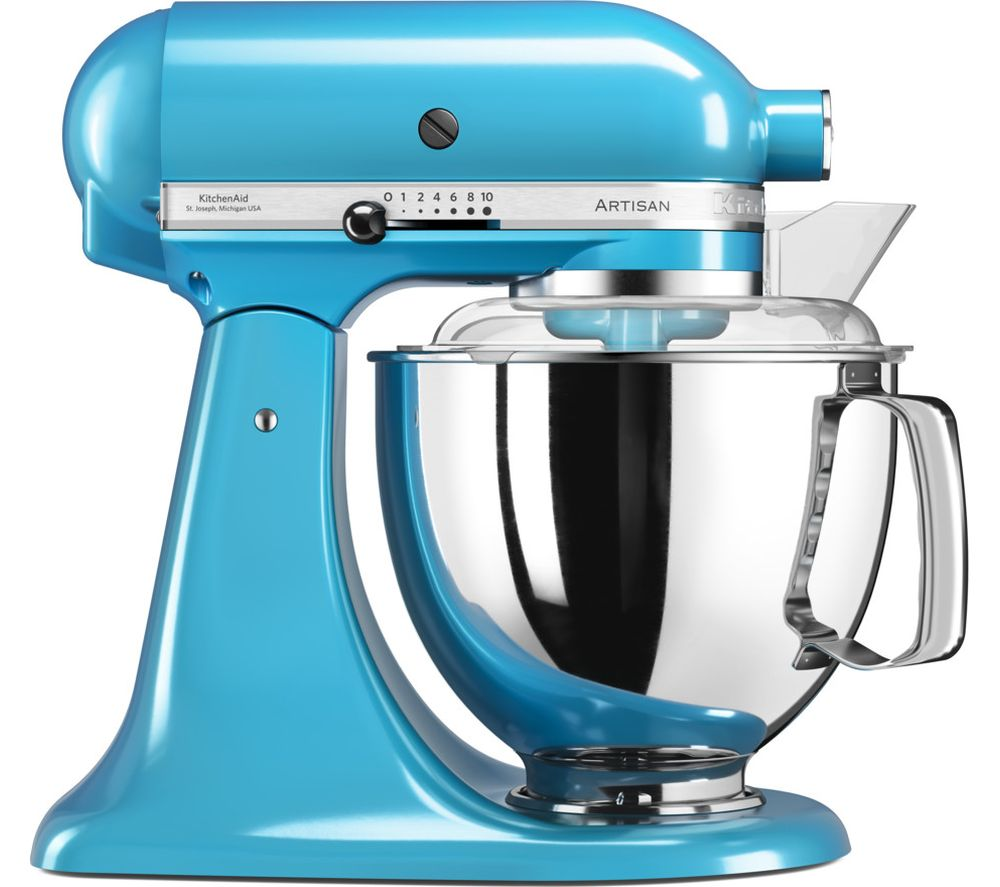 Buy KITCHENAID Artisan 5KSM175PSBCL Stand Mixer - Crystal Blue ...