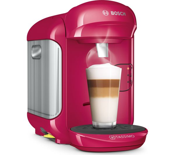 buy tassimo by bosch vivy2 coffee machine pink free delivery currys. Black Bedroom Furniture Sets. Home Design Ideas