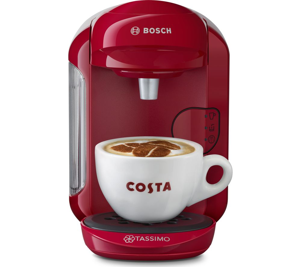 TASSIMO by Bosch Vivy2 TAS1401GB Coffee Machine - Pink