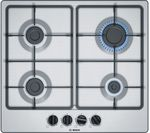 BOSCH Serie 4 PGP6B5B60 Gas Hob - Stainless Steel